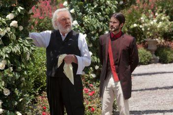 Presidente Snow e Seneca Crane